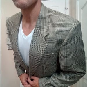 Other - Vintage 70's style SILK ITALIAN blazer 40R SLIMFIT